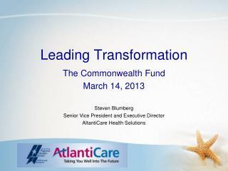 Leading Transformation