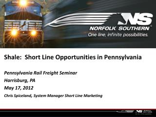 Shale:  Short Line Opportunities in Pennsylvania