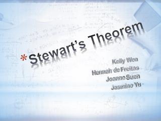 Stewart s Theorem