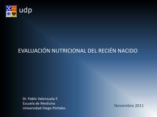 EVALUACIÓN NUTRICIONAL DEL RECIÉN NACIDO