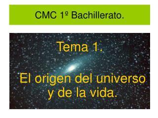 CMC 1º Bachillerato.