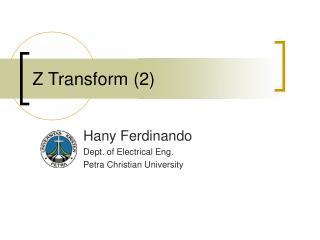 Z Transform (2)
