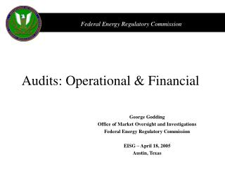 Audits: Operational & Financial
