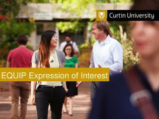 EQUIP Expression of Interest