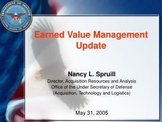 Earned Value Management Update
