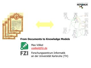 From Documents to Knowledge Models