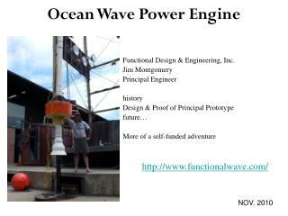 Ocean Wave Power Engine