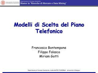 Modelli di Scelta del Piano Telefonico