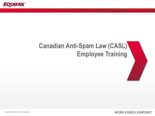 Canadian Anti-Spam Law (CASL) Employee Training
