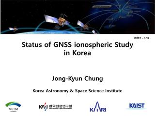 Status of GNSS  ionospheric  Study  in Korea