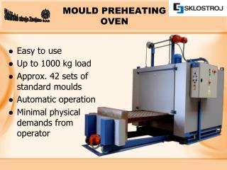 MOULD PREHEATING OVEN