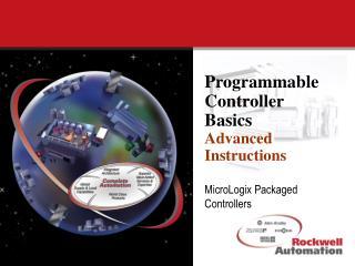Programmable Controller Basics Advanced Instructions