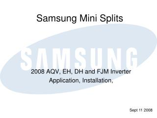 Samsung Mini Splits