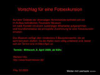 Weitere Info: feuerimrevier.de/