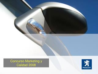 Concurso Marketing y Calidad 2008