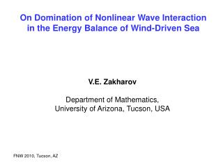 On Domination of Nonlinear Wave Interaction  in the Energy Balance of Wind-Driven Sea