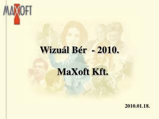 Wizu�l B�r  - 2010.