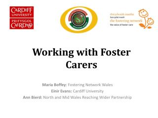 Working with Foster Carers
