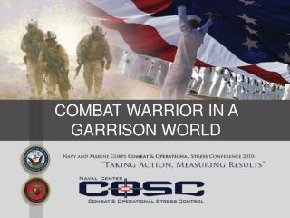 COMBAT WARRIOR IN A GARRISON WORLD