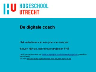 De digitale coach