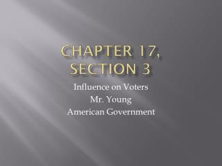 Chapter 17, Section 3