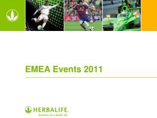 EMEA Events 2011