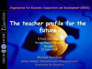 The teacher profile for the future
