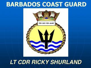 LT CDR RICKY SHURLAND