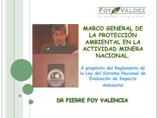 DR PIERRE FOY VALENCIA