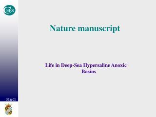 Nature manuscript
