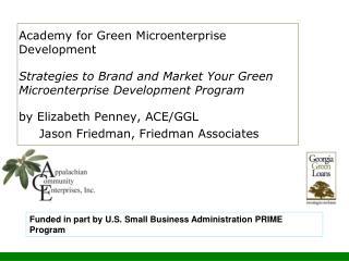Academy for Green Microenterprise Development