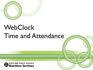 WebClock Time and Attendance