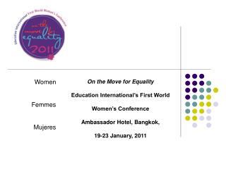 Women Femmes Mujeres