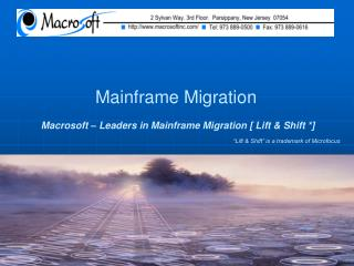 Mainframe Migration