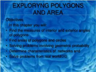 EXPLORYNG POLYGONS AND AREA