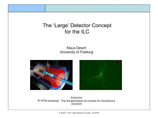 The 'Large' Detector Concept for the ILC