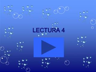 LECTURA 4