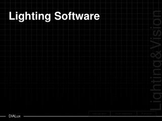 Lighting Software