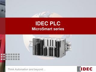 IDEC PLC MicroSmart series