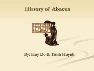History of Abacus