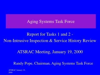 Aging Systems Task Force