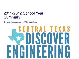 2011-2012 School Year Summary