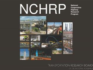 NCHRP Research on