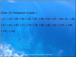 Homework Chapter 2: 2.25, 27, 29, 31, 33, 35, 37, 39, 41, 43, 45,47, 49, 53, 57,