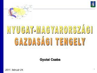 NYUGAT-MAGYARORSZÁGI GAZDASÁGI TENGELY