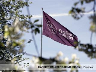 HARRIET WALLBERG-HENRIKSSON   |  President