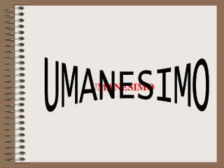 UMANESIMO