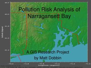 Pollution Risk Analysis of Narragansett Bay