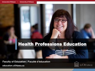 Health Professions Education