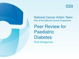 Peer Review for Paediatric Diabetes